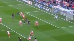 Golazo de Adriano ante el Atlético