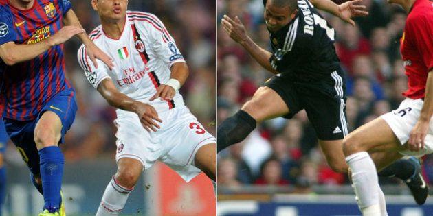 Sorteo Champions League 2012: Barcelona - Milán, Real Madrid - Manchester United, Valencia - PSG y Málaga...