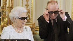 La reina de Inglaterra felicita la Navidad en 3D