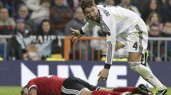Cinco partidos a Ramos por insultar al árbitro
