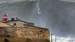 Surfea una ola de más de 30