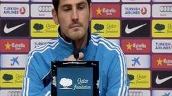 Casillas da la rueda de prensa en lugar de Mourinho
