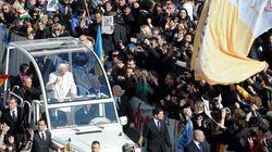 El adiós del papa a sus