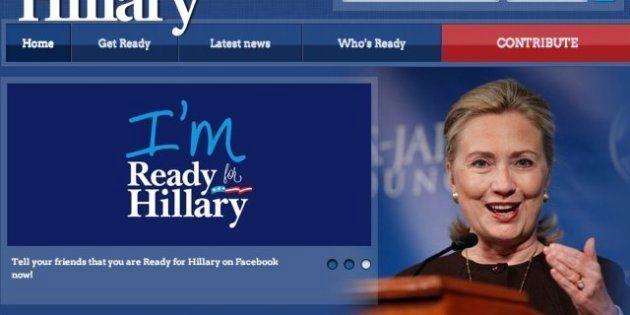 Hillary Clinton ya cuenta con 100.000 apoyos para aspirar a la presidencia de