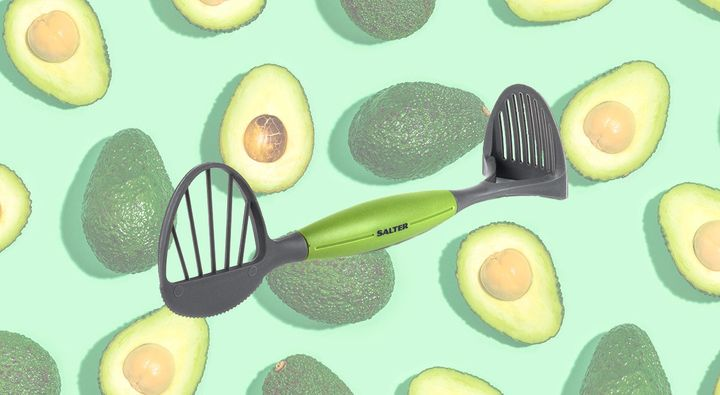 """Salter BW05611 4 in 1 Avocado Preparation Tool, <a href=""""https://fave.co/2FdJGr8"""" target=""""_blank"""" rel=""""noopener noreferrer"""">Amazon</a>, RRP &pound;7.99, although prices may vary"""