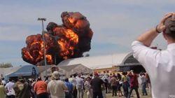 Muere el piloto de un avión tras estrellarse en Cuatro Vientos