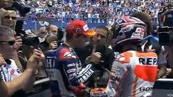 Lorenzo niega el saludo a Márquez tras un polémico adelantamiento
