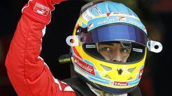 Una alegría para Fernando Alonso