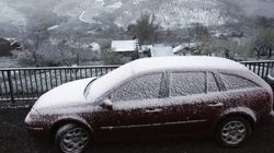 23 provincias en alerta por nieve, tormentas, olas y fuerte
