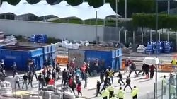 Aficionados alemanes, a golpes en Londres
