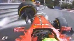 Massa destroza el Ferrari