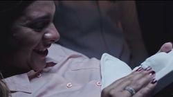 Pura emoción: una mujer ciega embarazada conoce a su hijo gracias a un molde en