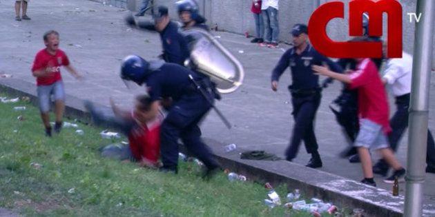Conmoción en el fútbol portugués por la agresión policial a un padre con su hijo