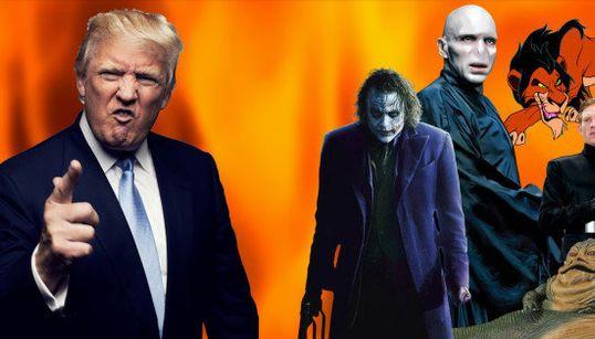Donald Trump tiene mucho en común con estos villanos de