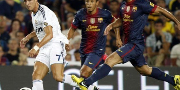 Barcelona - Real Madrid: Valdés mete a los blancos en la Supercopa (3-2) (FOTOS,