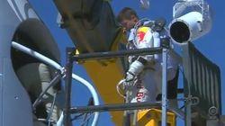 En directo: Se cancela el salto desde la estratosfera por el viento (VÍDEO, DIRECTO,