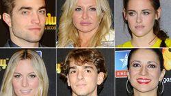 Stewart y Pattinson, entre mezcolanza de famosos españoles abrigaditos