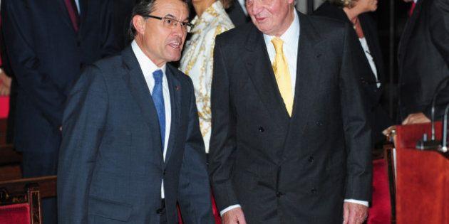 Mas contesta al rey: el presidente de la Generalitat quiere integrar fuerzas, pero en la