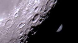 La Luna se comió a Júpiter en Navidad