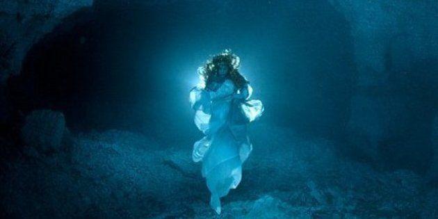La leyenda de la Cueva Orda: Natalia Avseenko se convierte en la fantasma de la cueva (FOTOS,