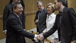 Draghi vino, vio... y los diputados se