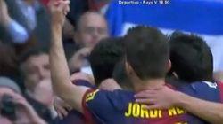 ¿Esto es una peineta de Jordi Alba?