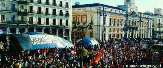 Miles de personas salen a la calle en toda España en el segundo aniversario del 15-M