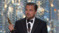 El discurso de Leonardo DiCaprio tras ganar el Oscar a mejor