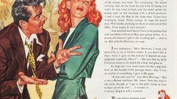 Un artista ha insertado frases machistas de Trump en anuncios de los años 50 (y funcionan demasiado
