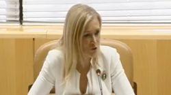 EN DIRECTO: Comparecencia de Cifuentes en la comisión de investigación sobre corrupción en la Asamblea de