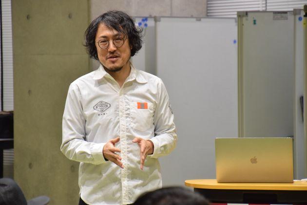 共同発起人の岡本ナオトさん
