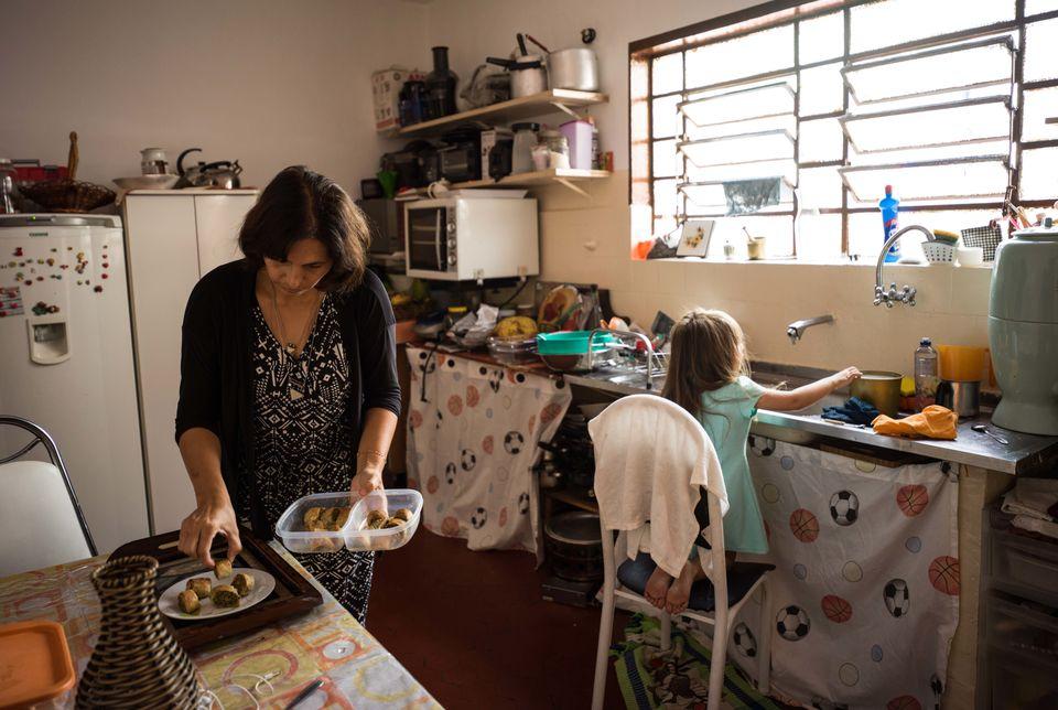 Fátima mora há 4 anos em São Paulo, onde está reconstruindo sua vida dia...