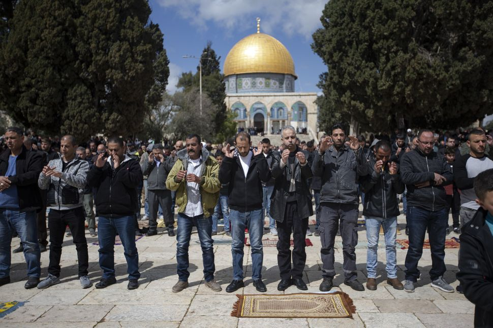 Palestinians perform funeral prayer in absentia for those who lost their lives during twin terror attacks in New Zealand mosq