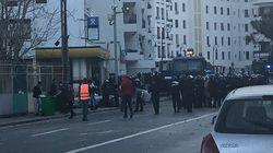 Des affrontements au Telemly, les forces anti-émeutes rétablissent le