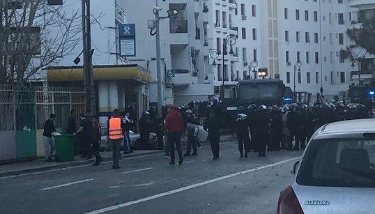 Des affrontements à Telemly, les forces anti-émeutes rétablissent le