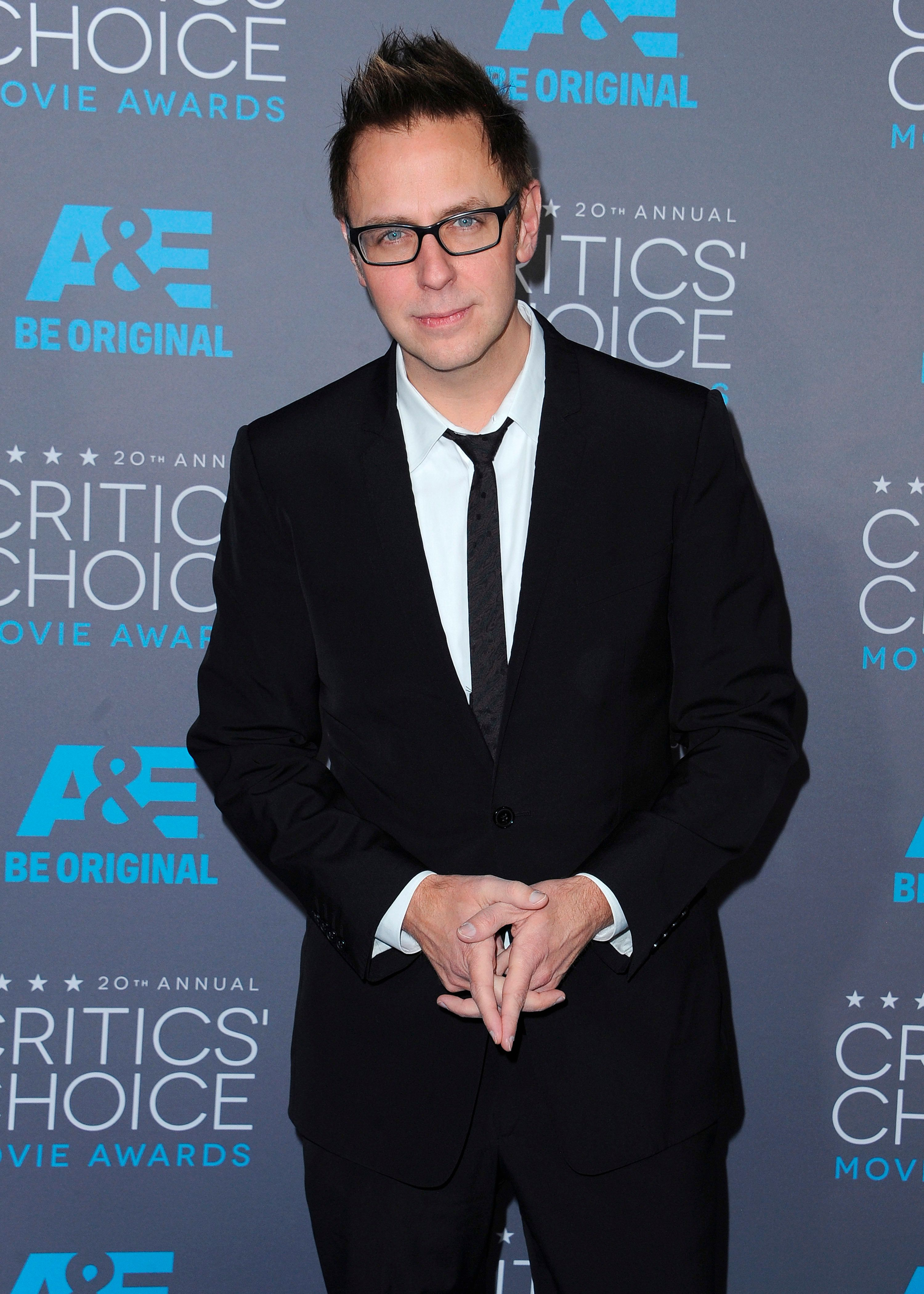 ***FILE PHOTO*** James Gunn Fired From Guardians of the Galaxy Vol. 3 After Resurfaced TweetsLOS ANGELES, CA - JANUARY 15: James Gunn at the 20th Annual Critics' Choice Movie Awards at the Hollywood Palladium on January 15, 2015 in Los Angeles, California. Credit: PGSK/MediaPunch /IPX