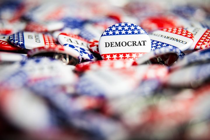 In a new HuffPost/YouGov survey, about two-thirds of Democratic and Democratic-leaning voters said they're satisfied wi