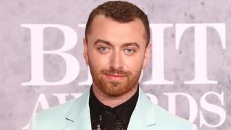 LONDON, -, UNITED KINGDOM - 2019/02/20: Sam Smith seen on the red carpet during The BRIT Awards 2019 at The O2, Peninsula Square in London. (Photo by Keith Mayhew/SOPA Images/LightRocket via Getty Images)