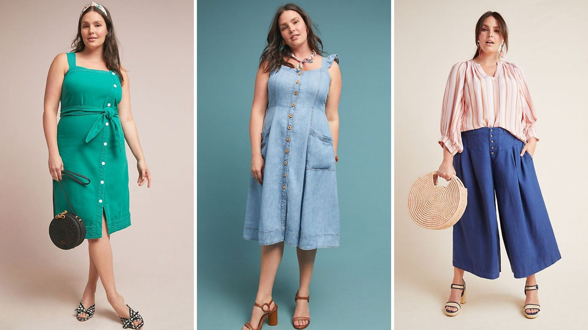 Anthropologie's Plus-Size Collection Is Finally Here