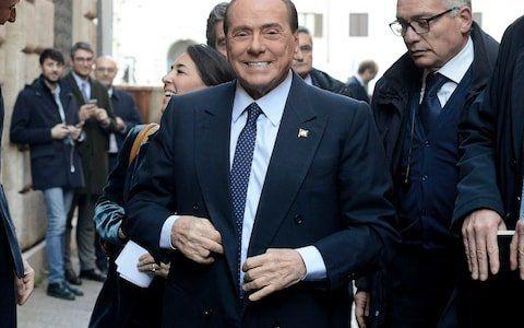 O πρώην Ιταλός πρωθυπουργός...