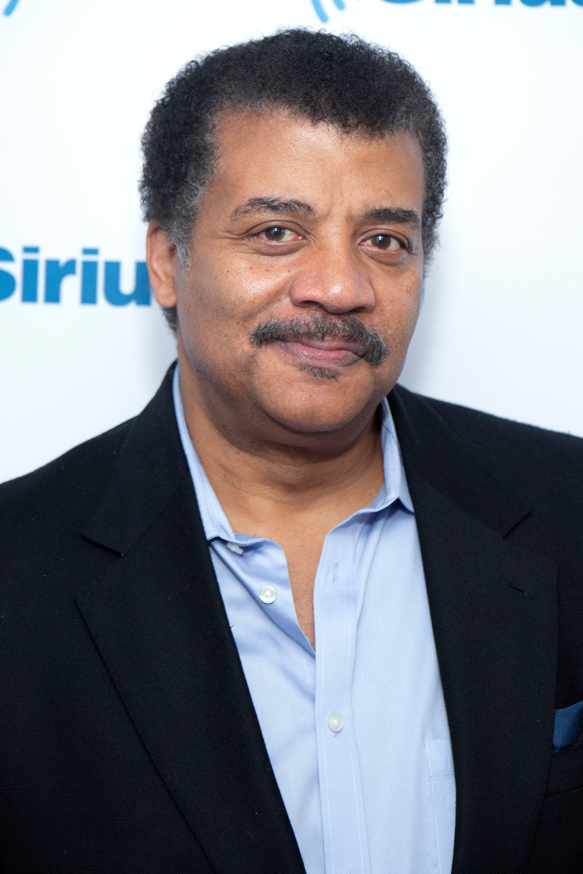 NEW YORK, NY - NOVEMBER 08:  Neil deGrasse Tyson visits SiriusXM Studios on November 8, 2018 in New York City.  (Photo by Santiago Felipe/Getty Images)