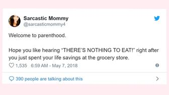 Parents tweet about the high cost of raising kids