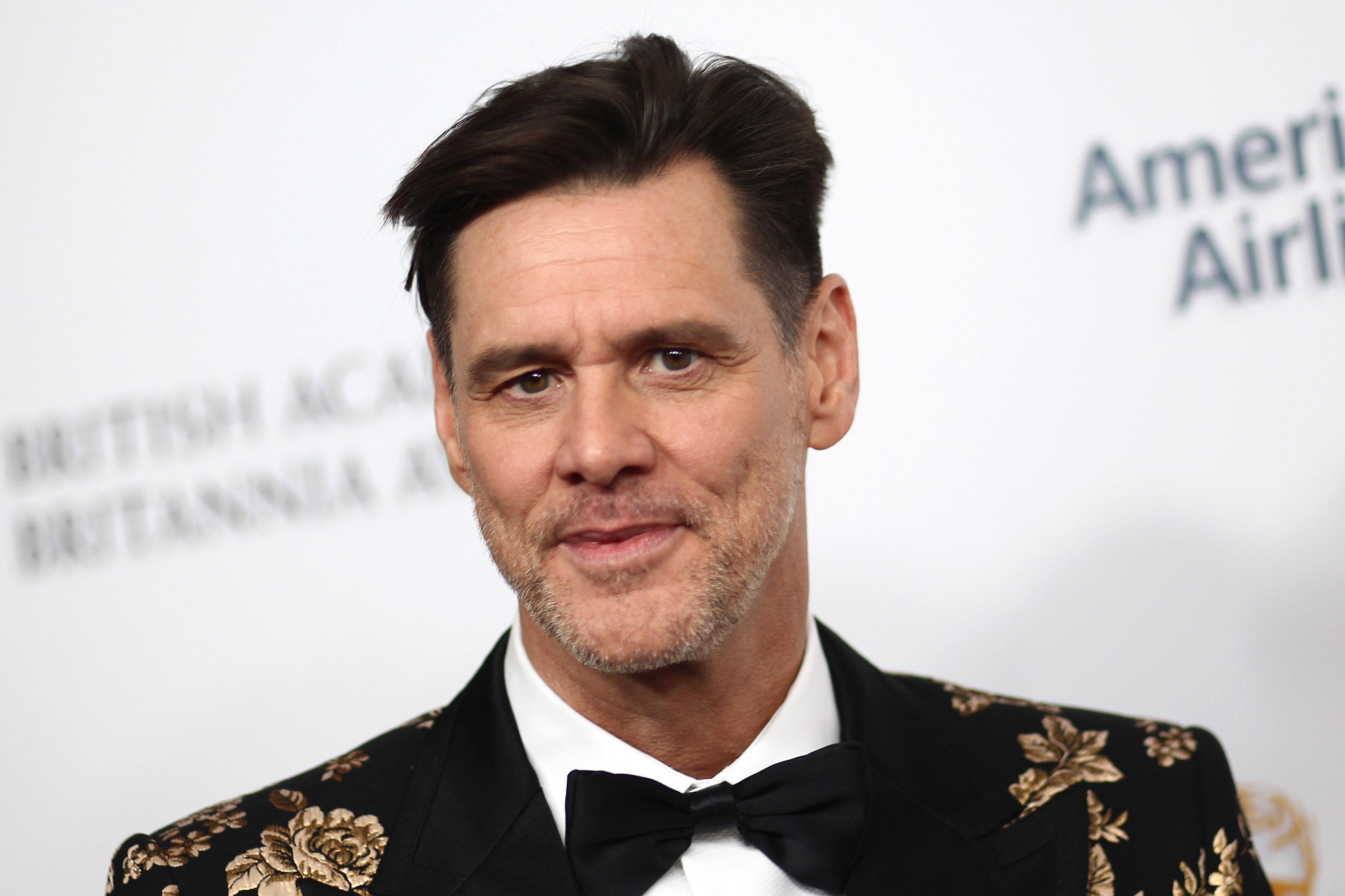 BEVERLY HILLS, CA - OCTOBER 26:  Jim Carrey attends the 2018 British Academy Britannia Awards presented by Jaguar Land Rover and American Airlines at The Beverly Hilton Hotel on October 26, 2018 in Beverly Hills, California.  (Photo by Tommaso Boddi/FilmMagic,)