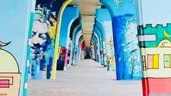 Polémique autour du retrait de graffitis d'un pont de la capitale, la présidence du gouvernement