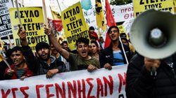 Μαζική συμμετοχή στο αντιρατσιστικό συλλαλητήριο στο κέντρο της