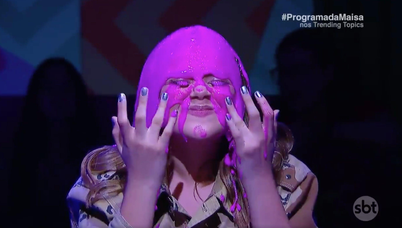 Maisa quebrou tudo na estreia de seu programa de entrevistas na