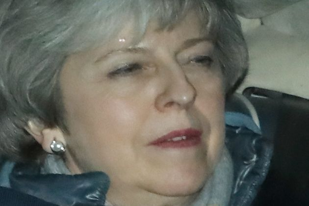Theresa May leaving parliament last week after a series of defeats. But now her Brexit deal could be