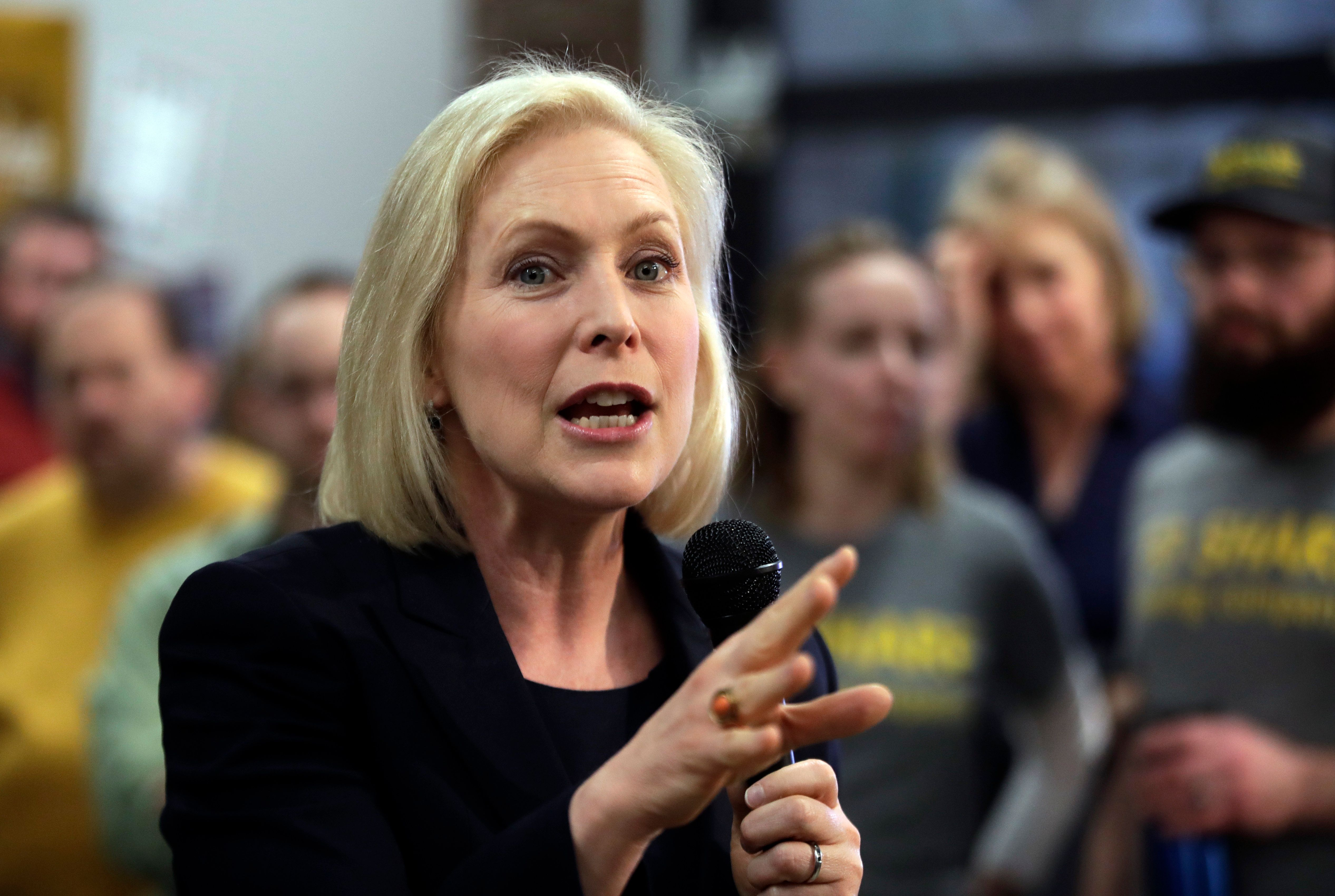 Kirsten Gillibrand in 2020 race for the Democratic nomination for US president