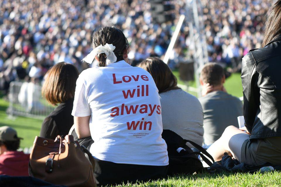'언제나 사랑이 승리한다.' : 뉴질래드 웰링턴, 2019년