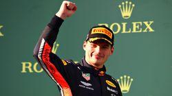 ホンダ、11年ぶりの表彰台。オーストラリアGPでフェルスタッペン3位入賞